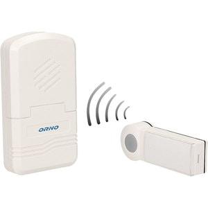 Sonerie wireless ORNO OR-DB-KH-122, 70 m, IP44, alb
