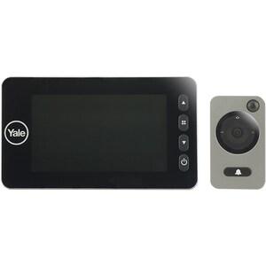 "Vizor electronic YALE DDV5800, Senzor miscare, Inregistrare video si foto, LCD 4.3"", 4 x AA, negru"