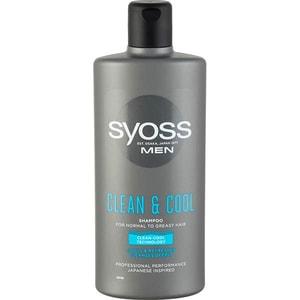 Sampon SYOSS Men Clean&Cool, 440ml