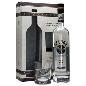 Vodka Beluga Noble, 0.7L + 1 pahar