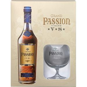 Vinars Grand Passion VS, 0.7L + 1 pahar
