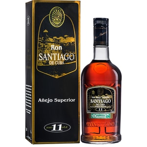 Rom Ron Santiago de Cuba Anejo 11 YO, 0.7L