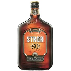 Rom Stroh 80% alcool, 0.7L