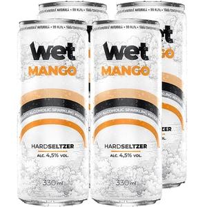 Hard Seltzwe Seltzer Wet Mango bax 0.33L x 4 doze