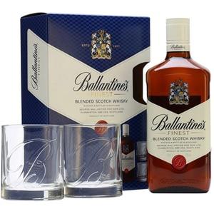 Whisky Ballantine's, 0.7L  + 2 pahare