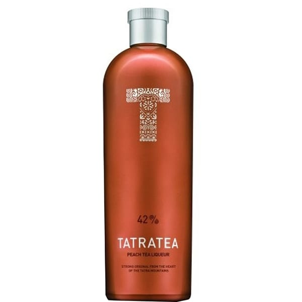 Lichior Tatratea 42% Peach, 0.7L