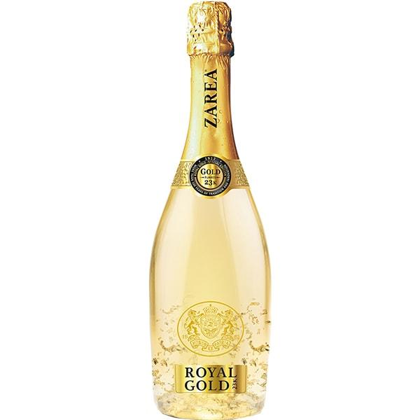 Vin spumant alb demisec Zarea Royal Gold, 0.75L
