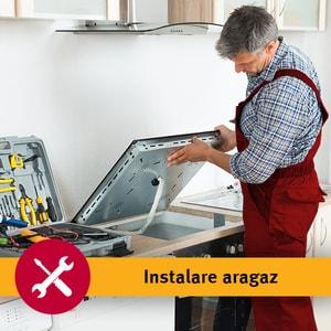 Serviciu instalare aragaz in 1-3 zile lucratoare