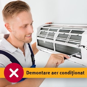Serviciu demontare aer conditionat