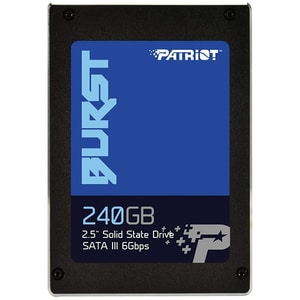 "Solid-State Drive (SSD) PATRIOT Burst 240GB, SATA3, 2.5"", PBU240GS25SSDR"
