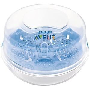 Sterilizator pentru microunde PHILIPS AVENT SCF281/02, 0.2l, alb - albastru