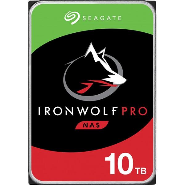 Hard Disk NAS desktop SEAGATE IronWolf Pro, 10TB, 7200RPM, SATA3, 256MB, ST10000NE0008