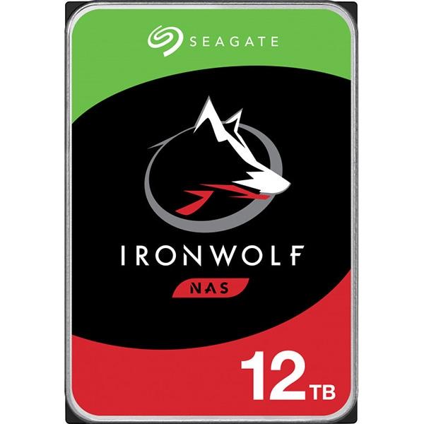 Hard Disk NAS desktop SEAGATE IronWolf, 12TB, 7200RPM, SATA3, 256MB, ST12000VN0008