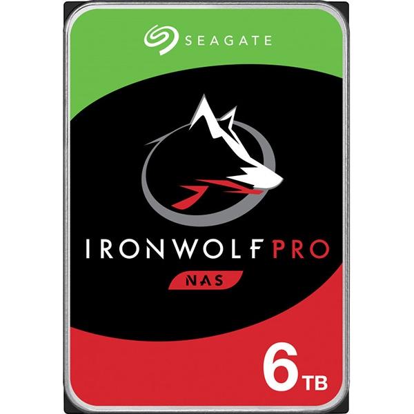Hard Disk NAS desktop SEAGATE IronWolf Pro, 6TB, 7200RPM, SATA3, 256MB, ST6000NE000