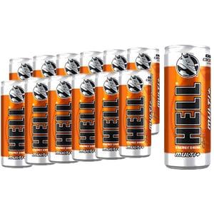 Bautura energizanta HELL ENERGY Multi+ bax 0.25L x 12 cutii
