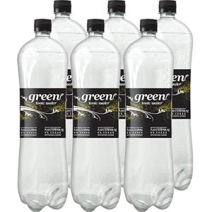 Bautura racoritoare carbogazoasa GREEN Tonic bax 1.5L x 6 sticle