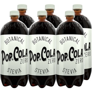 Bautura racoritoare carbogazoasa POP COLA ZERO, 1.5L x 6 sticle