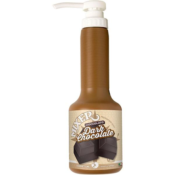 Sirop MIXER Topping Dark Ciocolate, 1.4L, 3 sticle