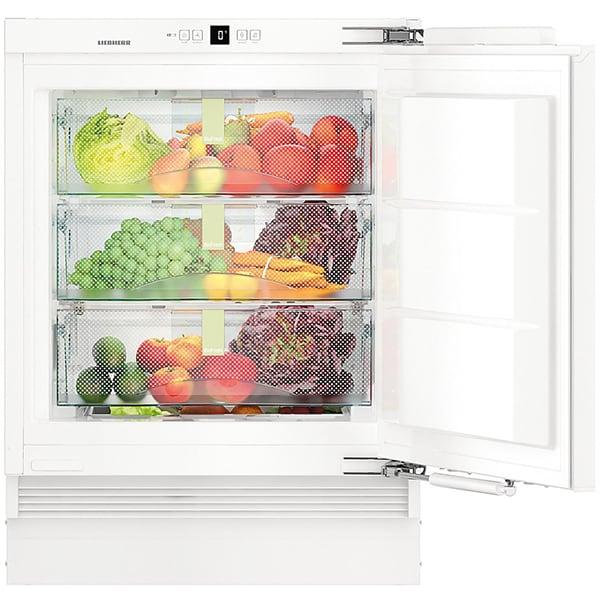 Frigider cu o usa incorporabil LIEBHERR SUIB 1550 Premium, BioFresh, 79 l, H 88.3 cm, Clasa C, alb