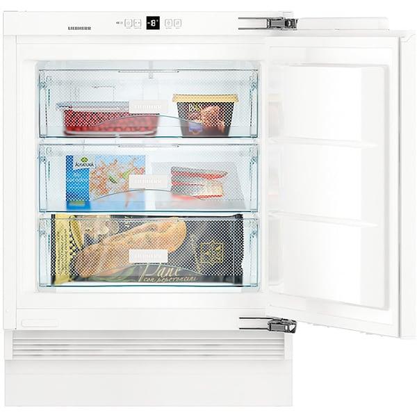 Congelator incorporabil LIEBHERR SUIG 1514, Smart Frost, 95 l, H 88 cm, Clasa E, alb