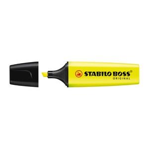 Textmarker STABILO Boss, 2-5 mm, galben