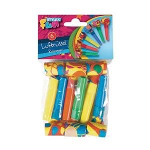 Set accesorii petrecere STYLEX, 6 bucati, diverse culori