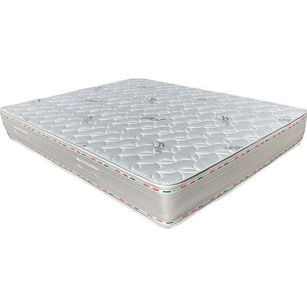 Saltea ortopedica PREVI Silver 14+7 cm, 120 x 200 cm, Spuma cu memorie, Duritate diferita, Aquagel Air-Fresh