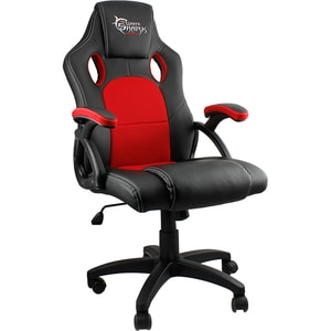 Scaun gaming WHITE SHARK Kings Throne, negru-rosu