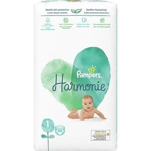 Scutece PAMPERS Harmonie nr 1, Unisex, 2-5 kg, 50 buc