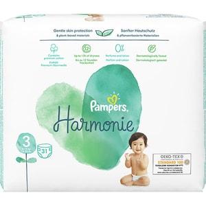 Scutece PAMPERS Harmonie nr 3, Unisex, 6-10 kg, 31 buc