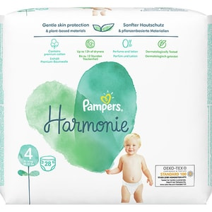 Scutece PAMPERS Harmonie nr 4, Unisex, 9-14 kg, 28 buc