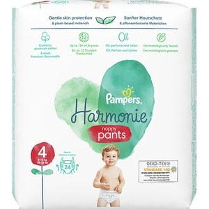 Scutece chilotel PAMPERS Harmonie Pants nr 4, Unisex, 9-15 kg, 24 buc