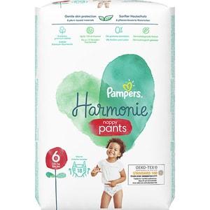 Scutece chilotel PAMPERS Harmonie Pants nr 6, Unisex, 15+kg, 18 buc