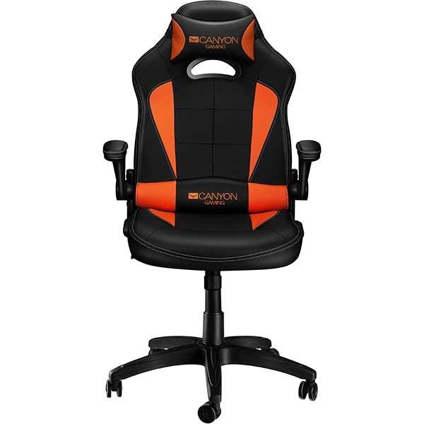 Scaun Gaming CANYON Vigil CND-SGCH2, negru-portocaliu