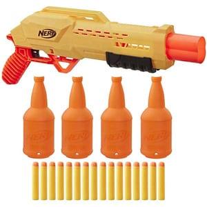 Set 2 blastere NERF Alpha Strike Tiger DB2 cu tinte E8312, 8 ani+, multicolor