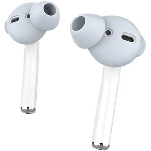 Set dopuri silicon pentru Apple AirPods PROMATE PodSkin, albastru