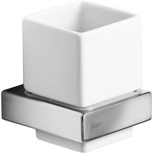 Set pahar baie TEKA Formentera 170810200, argintiu-alb