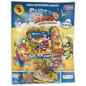 Set figurina si revista SUPERZINGS SZ9999, 3 ani+, multicolor
