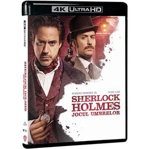 Sherlock Holmes: Jocul Umbrelor Blu-Ray 4K