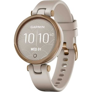 Smartwatch GARMIN Lily Sport, Android/iOS, silicon, Rose Gold/Light Sand