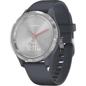 Smartwatch GARMIN Vivomove 3S 39mm, Android/iOS, silicon, Silver Blue
