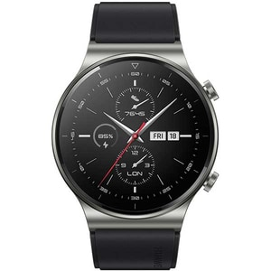 Smartwatch HUAWEI GT 2 Pro, Android/iOS, silicon, Night Black