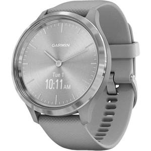 Smartwatch GARMIN Vivomove 3 44mm, Android/iOS, silicon, Grey Silver
