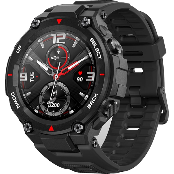 Smartwatch AMAZFIT T-Rex, Android/iOS, silicon, Rock Black