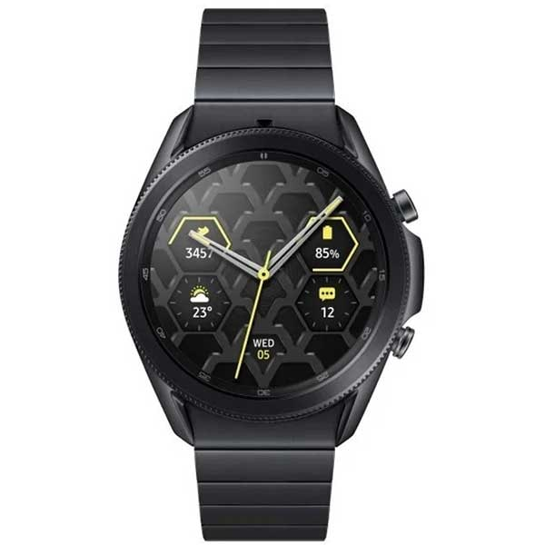 Smartwatch SAMSUNG Galaxy Watch 3 45mm, Wi-Fi, Android/iOS, Stainless Steel, Titan
