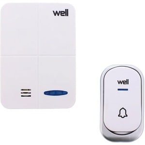 Sonerie wireless WELL DOORBELL-BRIEF-WL, 120m, alb