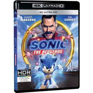 Sonic The Hedgehog Blu-ray 4K