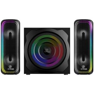 Boxe Gaming VERTUX SonicThunder-80, 2.0, 80W, Bluetooth, negru