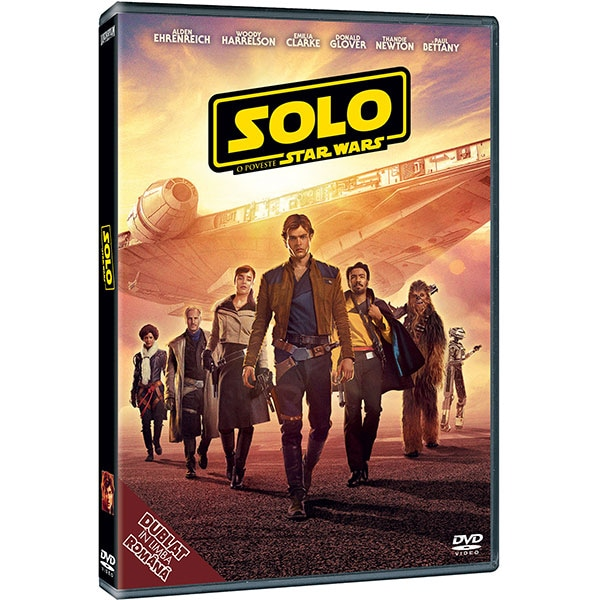 Solo: O poveste Star Wars DVD