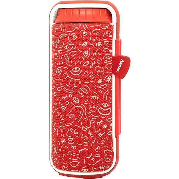 Boxa portabila HAMA Soundcup-L HaHaHa Feel, Bluetooth, rosu